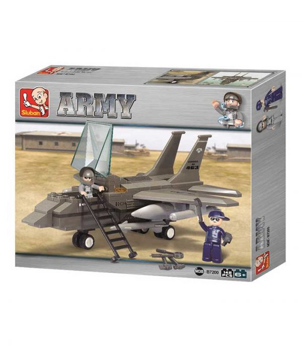 Sluban Τουβλάκια Army, Fighter Jet M38-B7200 (142τμχ)