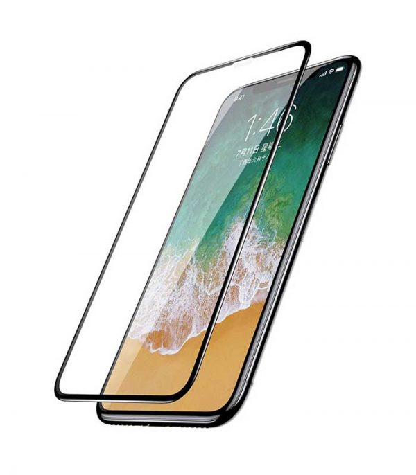 Baseus Tempered Glass Protector 0.3mm για iPhone X/XS - Μαύρο