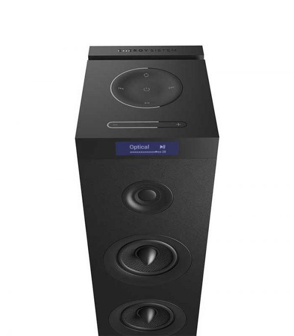 Energy Sistem Tower 8 G2, Ηχείο Bluetooth, 2.1ch, USB/SD/FM, 120W - Μαύρο