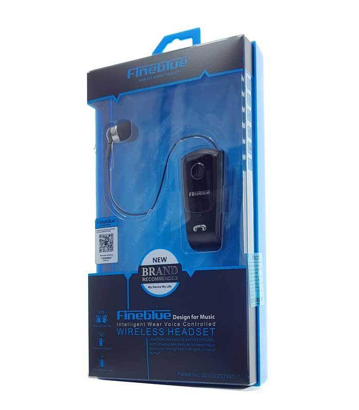 Fineblue Bluetooth earphone F920, V4.1 + EDR - Μαύρο