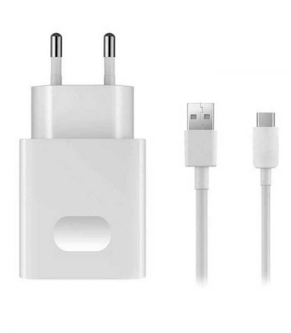 Huawei AP32 Quick Charger with USB Type-C 9V/5V 2A (1m) - Λευκό