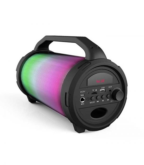 iDance Cyclone CY 400 Φορητό Καραόκε Ηχείο με Μικρόφωνο FM/BT/USB/SD - Μαύρο