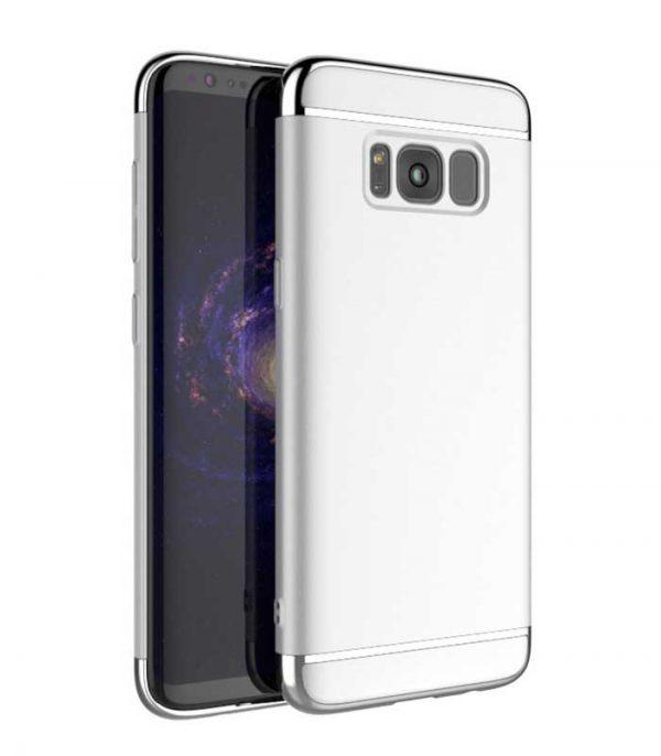 iPaky 3 in 1 Elegant Θήκη για Samsung Galaxy S8 - Ασημί