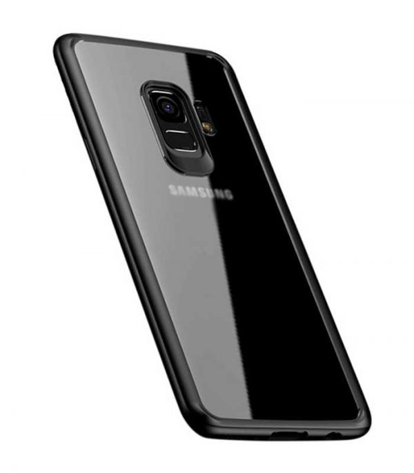 iPaky Frame with Gel Frame Θήκη για Samsung Galaxy S9 - Μαύρο