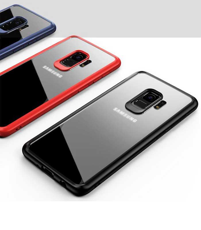 iPaky Frame with Gel Frame Θήκη για Samsung Galaxy S9 - Μαύρο