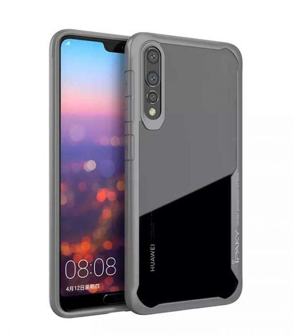 iPaky Survival Gel Anti-Fall Θήκη για Huawei P20 Pro - Γκρι