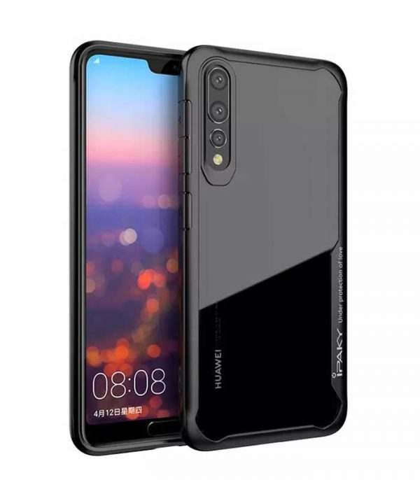 iPaky Survival Gel Anti-Fall Θήκη για Huawei P20 Pro - Μαύρο