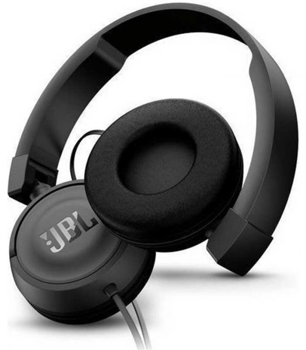 JBL T450 Handsfree Headphones - Μαύρο