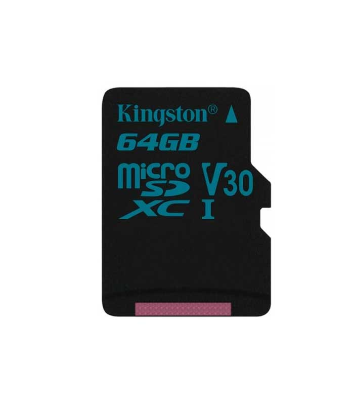 Kingston Canvas Go! microSDXC 64GB U3 V30 CL10