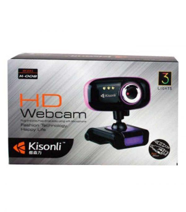 Kisonli K-008 Webcam with Microphone