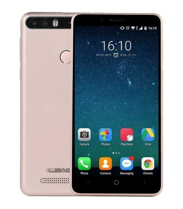 "Leagoo KIICAA Power, 5"" HD, Quad Core, (2GB/16GB) - Χρυσό"