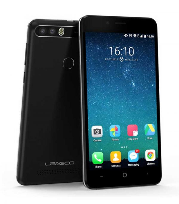 "Leagoo KIICAA Power, 5"" HD, Quad Core, (2GB/16GB) - Μαύρο"