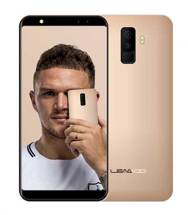 """Leagoo M9 5.5"""" HD IPS, Quad Core, Quad Cam (2GB/16GB) - Χρυσό"""