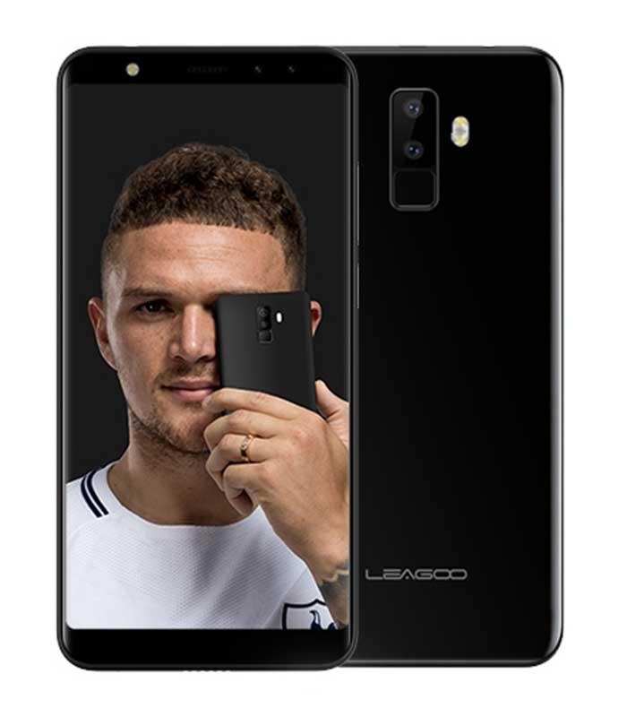 """Leagoo M9 5.5"""" HD IPS, Quad Core, Quad Cam (2GB/16GB) - Μαύρο"""