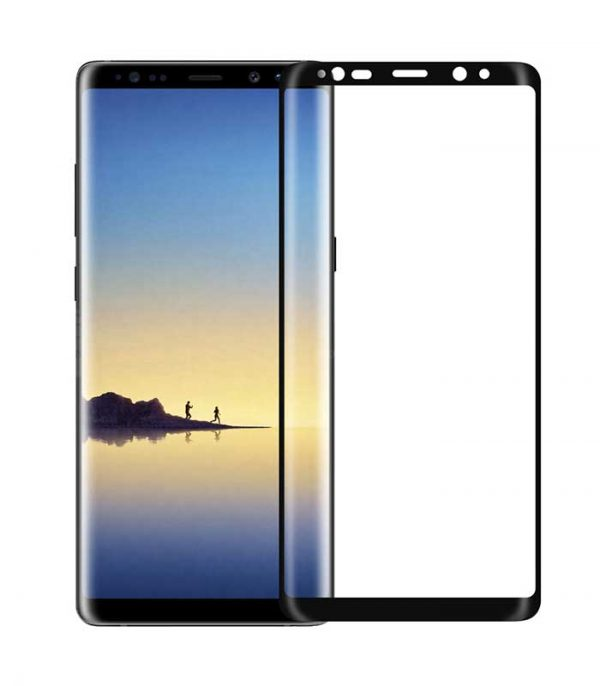 Nillkin 3D CP+MAX Ultra Thin Tempered Glass 0.1 MM 9H για Samsung Galaxy Note 8 - Μαύρο