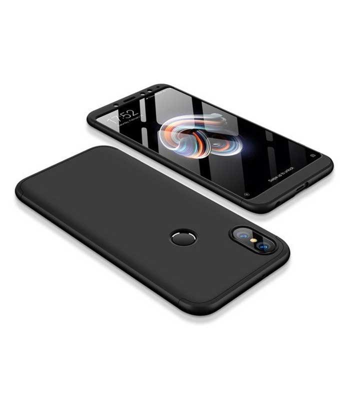 ΟΕΜ TPU Front / Back 360 Θήκη για Xiaomi Redmi S2 - Μαύρο