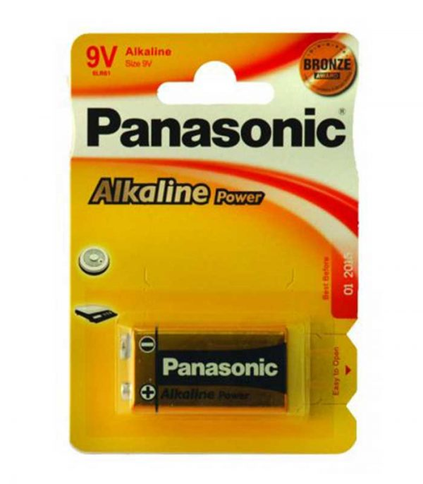 Panasonic Alkaline Power 9V (1τμχ)