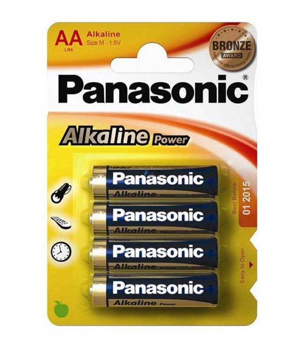Panasonic Alkaline Power AA (4τμχ)