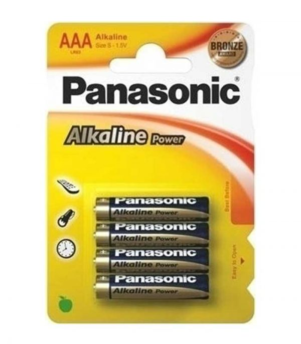 Panasonic Alkaline Power AAA (4τμχ)