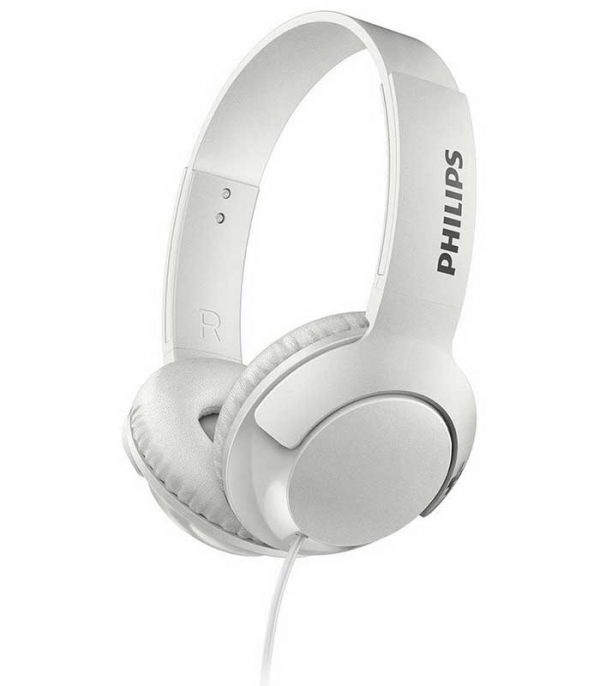 Philips SHL3075WT/00 Ακουστικά Stereo με Μικρόφωνο BASS+ - Λευκό