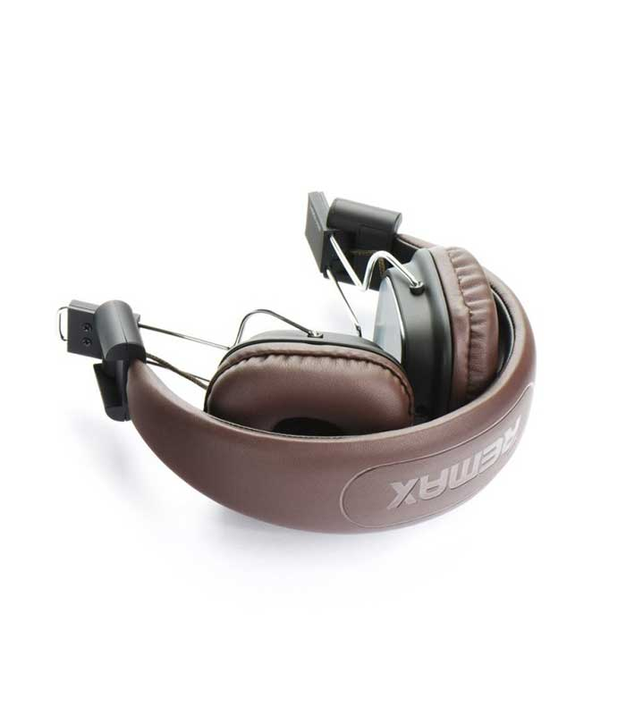 Remax RM-100H Headphones - Μαύρο/Καφέ