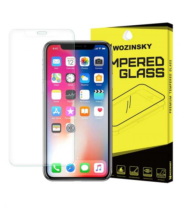 Wozinsky New Full Screen Super Tempered Glass Full Coveraged 9H για iPhone X/XS