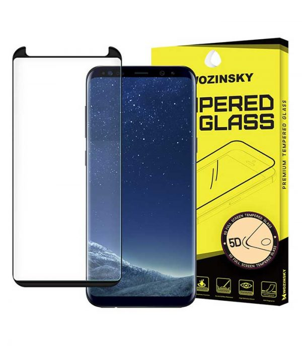 Wozinsky Tempered Glass 5D Full Glue Super Tough Screen Protector Full Coveraged with Frame για Samsung Galaxy Note 9 - Μαύρο