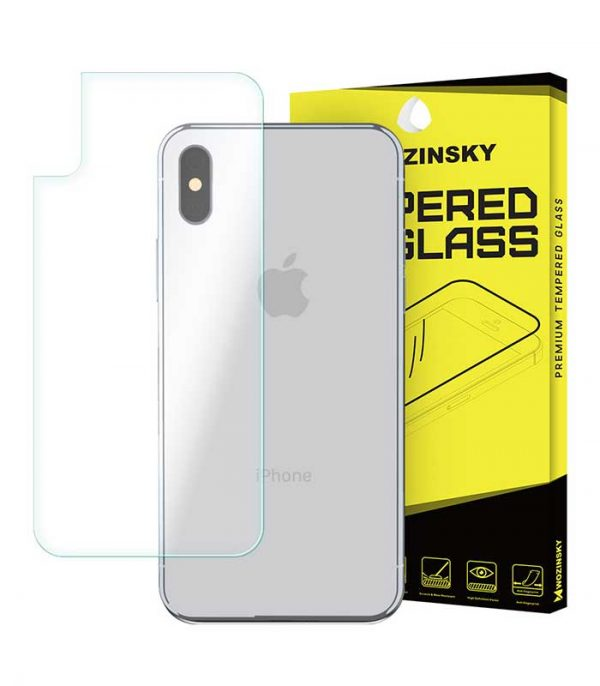 Wozinsky Tempered Glass 9H Back Protector για iPhone X/XS