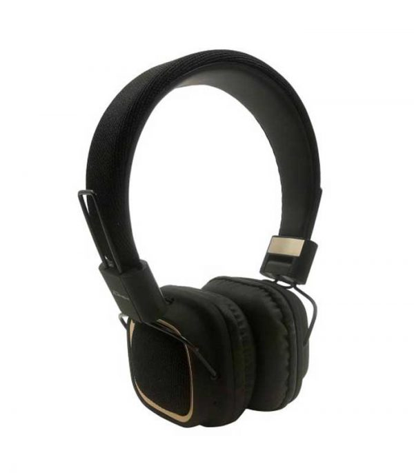 Element HD-800BT-K Fabric Bluetooth Headphones με Μικρόφωνο - Μαύρο