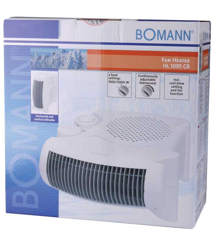 BOMANN HL 1095 Αερόθερμο 1000W/2000W