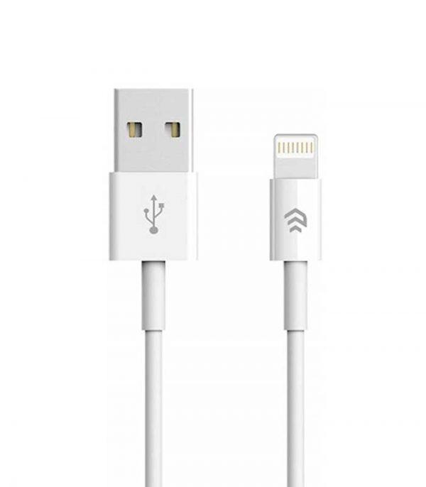 Devia USB to Lightning (1m) - Λευκό