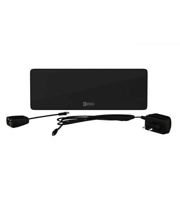 Emos HD-101N Εσωτερική Κεραία DVB-T2, Full HD, LTE, 44dBi