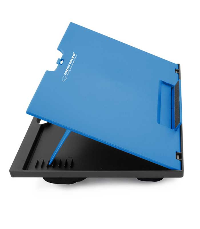 Esperanza EA154B Adjustable Notebook Stand Kukenan - Μπλε