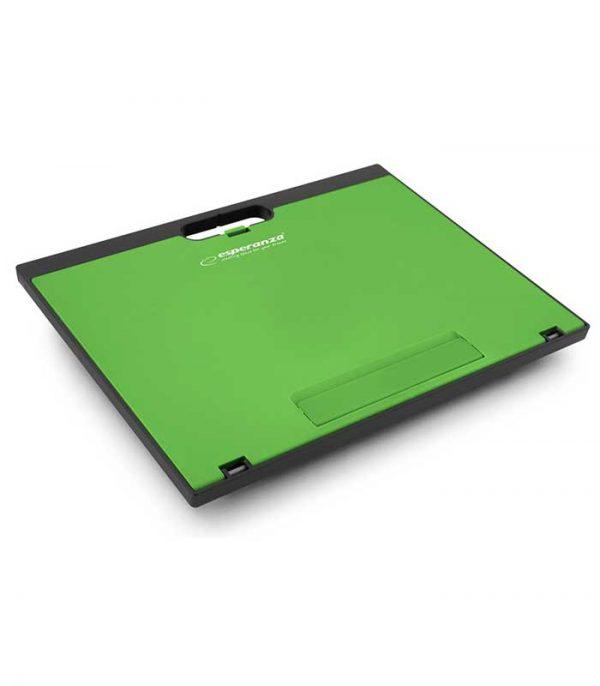 Esperanza EA154G Adjustable Notebook Stand Kukenan - Πράσινο