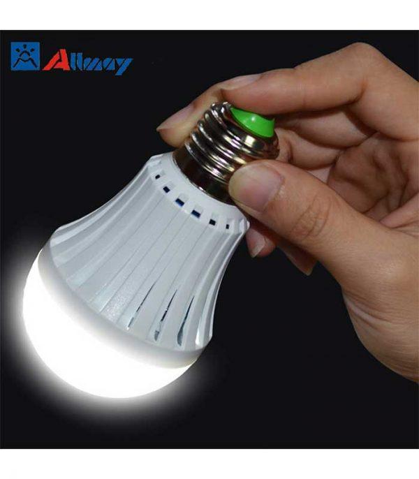 Magic Lamp 12W E27 3000Κ, Ασφαλείας με Επαναφορτιζόμενη Μπαταρία