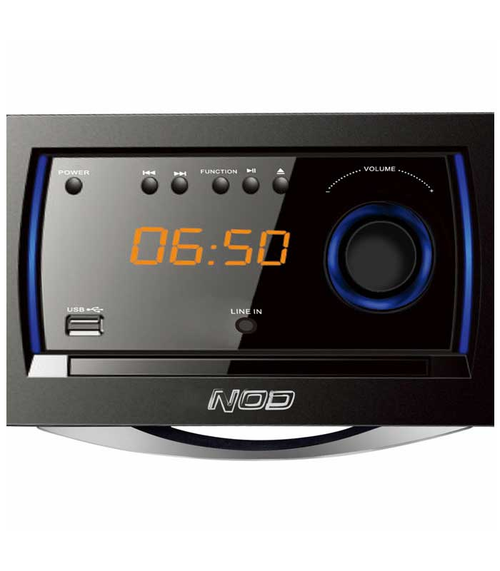 NOD MHS-001BL Mini Hi-Fi CD player, FM, Bluetooth, USB