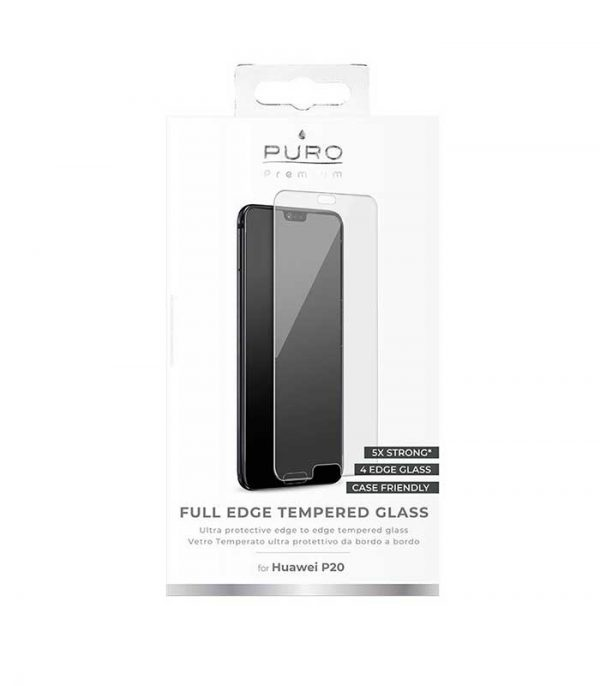 Puro Premium Full Edge Tempered Glass για Huawei P20 Pro / P20 Plus