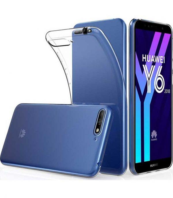 OEM TPU Ultra Slim Θήκη για Huawei Y6 2018 - Διάφανο