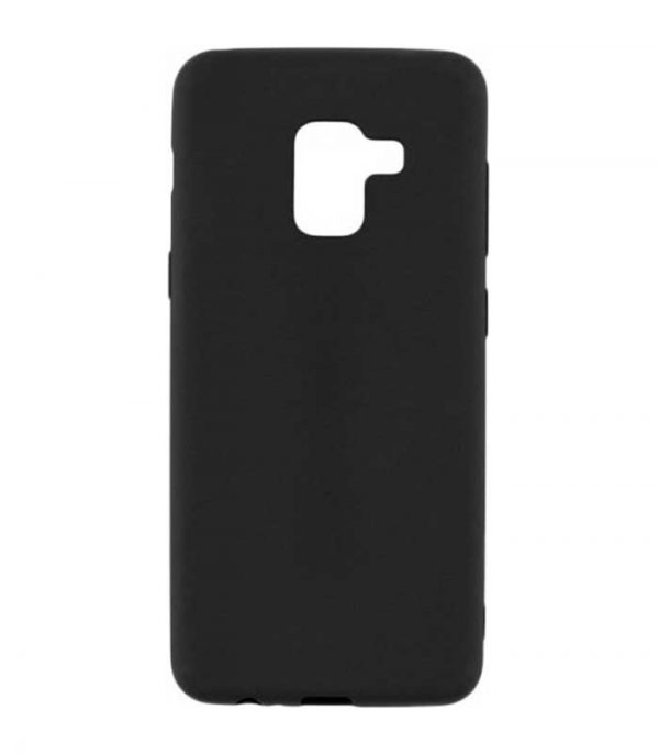 OEM TPU Ultra Slim Θήκη για Samsung Galaxy A8 2018 - Μαύρο