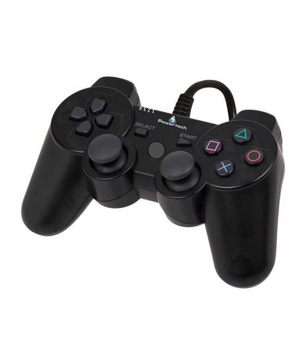 Powertech PT-170 Ενσύρματο Gamepad 3 in 1 PC/PS2/PS3