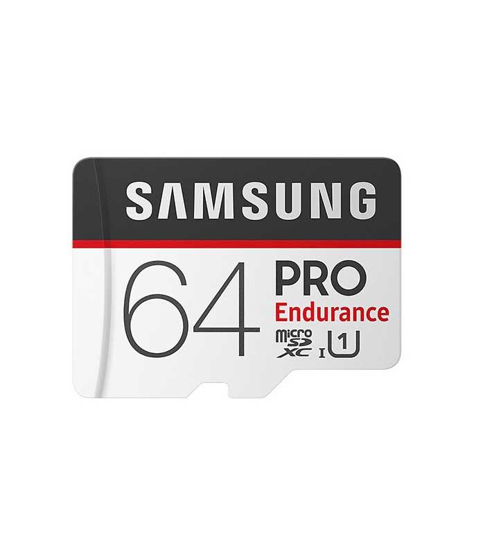 Samsung Pro Endurance microSDXC 64GB U1 with Adapter