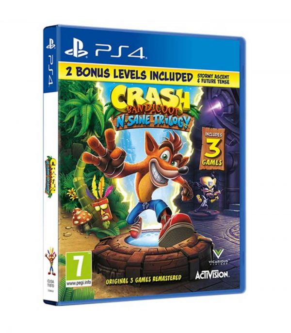 Crash Bandicoot N. Sane Trilogy 2.0 (PS4)