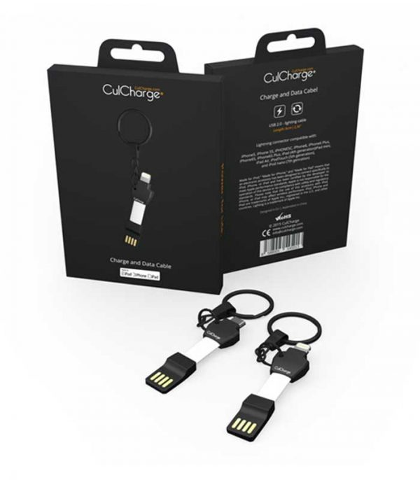 CulCharge USB male - Lightning male