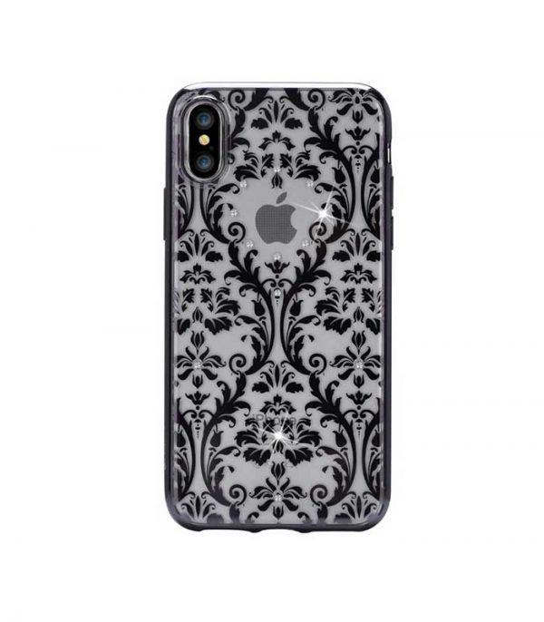 Devia Baroque Θήκη για Apple iPhone X/ iPhone XS - Μαύρο