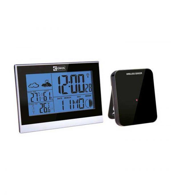Emos E3070 Μετεωρολογικός σταθμός, υγρόμετρο, ημερολόγιο, ρολόι