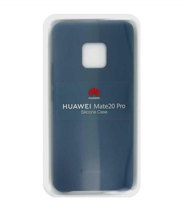 Huawei Back Cover Silicone θήκη για Huawei Mate 20 Pro - Μπλε