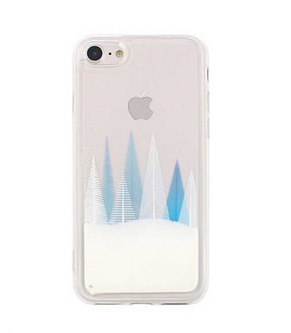 Liquid Glitter Winter Snow1 TPU Θήκη για Huawei P20 Lite