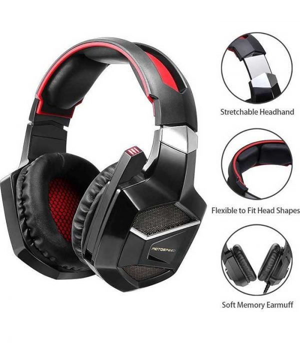 Motospeed H12 Wired Game Headset