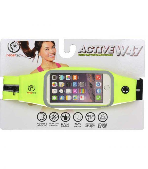 "Rebeltec Active W47 Waist Case Smartphone 4.7"""