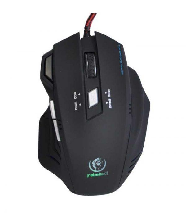 Rebeltec Punisher 2 Gaming Ενσύρματο Ποντίκι